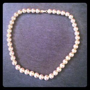 Tiffany ball necklace.